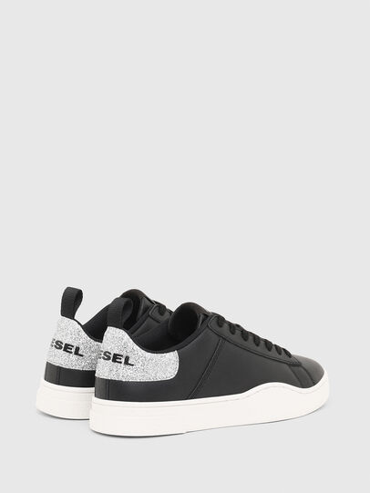 Diesel - S-CLEVER LOW LACE W, Negro/Plata - Sneakers - Image 3