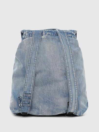 Diesel - VOLPAGO BACK, Blue Jeans - Mochilas - Image 2