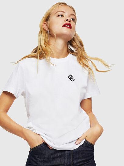 Diesel - CC-T-DIEGO-COLA, Blanco - Camisetas - Image 2