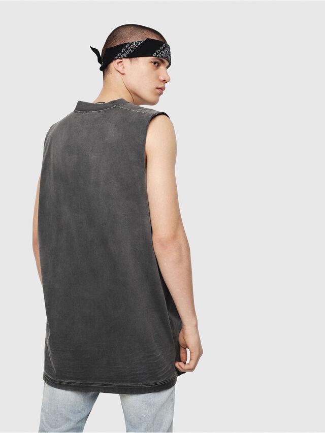 Diesel - T-MINOLESS, Negro - Camisetas - Image 2