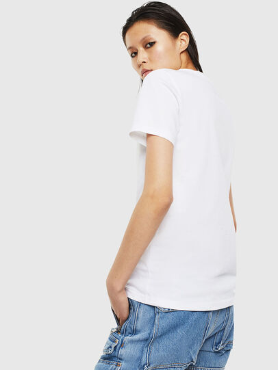 Diesel - T-SILY-S2, Blanco - Camisetas - Image 2