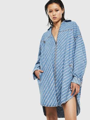 DE-SLYX, Azul Claro - Vestidos