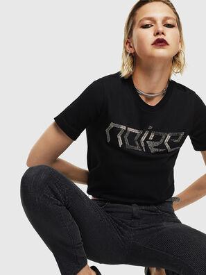 T-SILY-WS, Negro - Camisetas