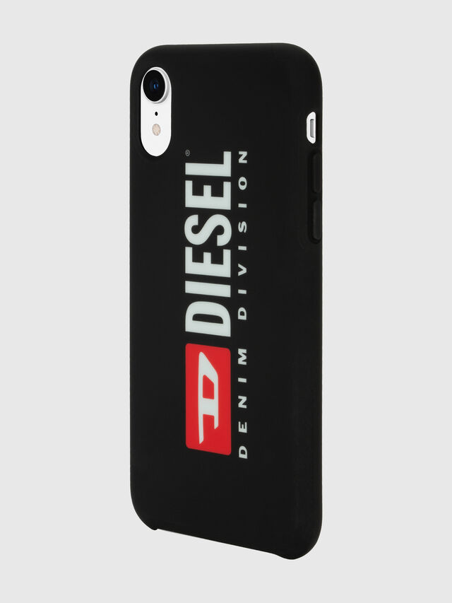Diesel - DIESEL PRINTED CO-MOLD CASE FOR IPHONE XR, Negro/Blanco - Fundas - Image 5