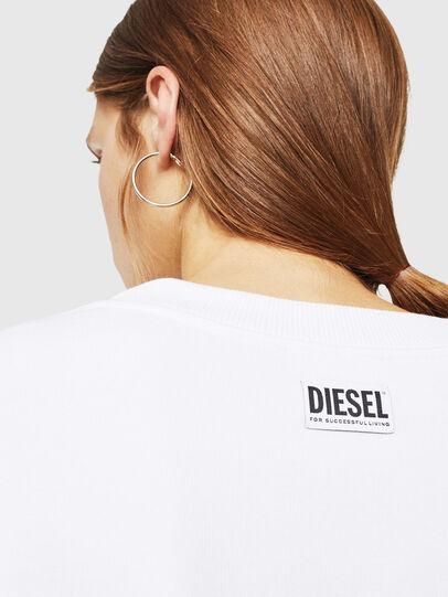 Diesel - F-AKUA, Blanco - Sudaderas - Image 4