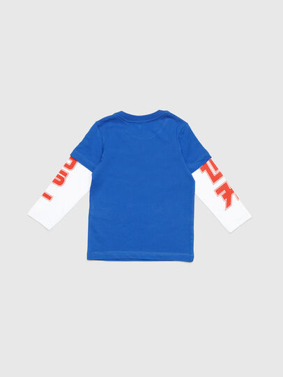 Diesel - TUCOB-R, Azul - Camisetas y Tops - Image 2