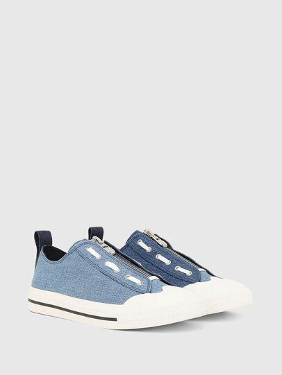 Diesel - S-ASTICO LZIP, Azul - Sneakers - Image 2
