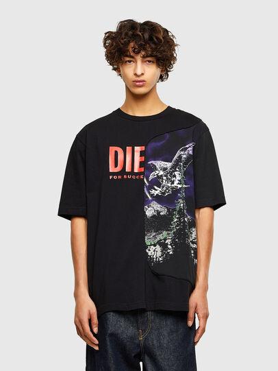 Diesel - T-BLAST, Negro - Camisetas - Image 1