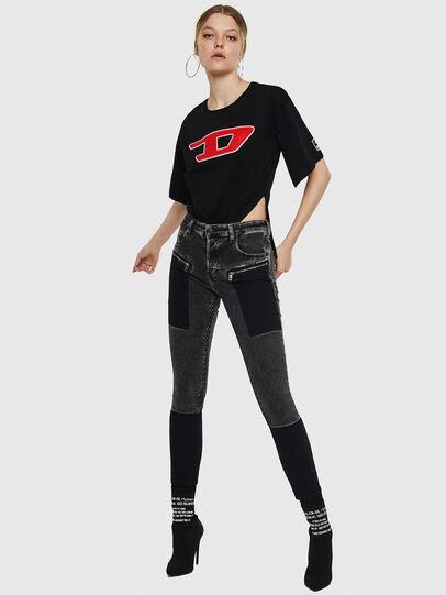 Diesel - T-JACKY-I, Negro - Camisetas - Image 6