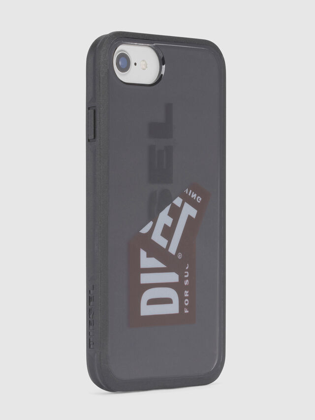 Diesel - STICKER IPHONE 8/7/6S/6 CASE, Negro - Fundas - Image 3