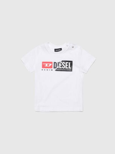 Diesel - TDIEGOCUTYB, Blanco - Camisetas y Tops - Image 1