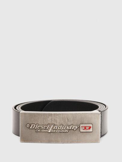 Diesel - B-PIASTRY, Negro - Cinturones - Image 1