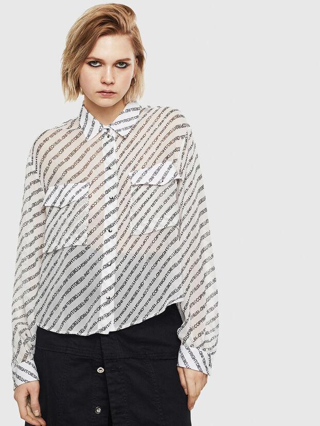 C-SUPERIOR, Blanco/Negro - Camisas