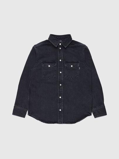 Diesel - CDROOKEL OVER, Negro - Camisas - Image 1