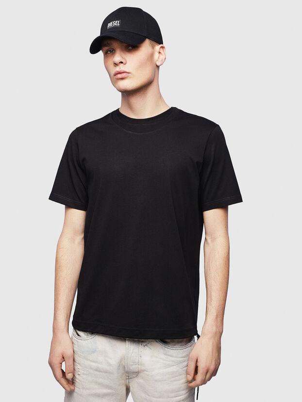 T-HUSTY, Negro - Camisetas