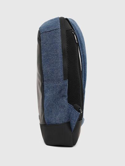 Diesel - F-SUSE MONO, Azul/Negro - Mochilas - Image 3