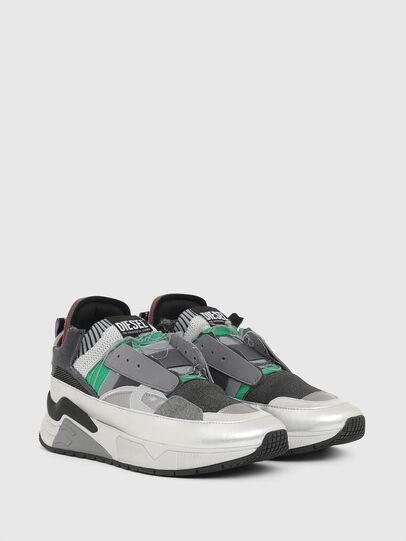 Diesel - S-BRENTHA DEC, Gris - Sneakers - Image 2