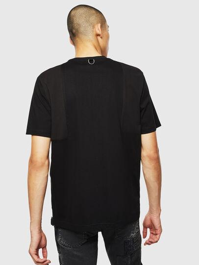 Diesel - T-TOMI, Negro - Camisetas - Image 2
