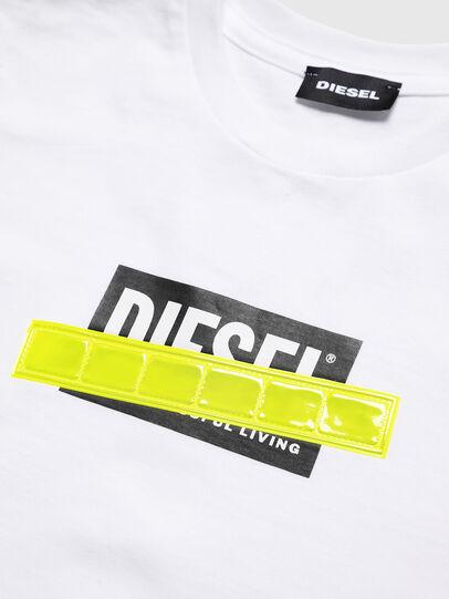 Diesel - TJUSTDIE, Blanco - Camisetas y Tops - Image 3