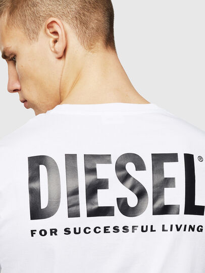 Diesel - LR-T-DIEGO-VIC, Blanco - Camisetas - Image 5