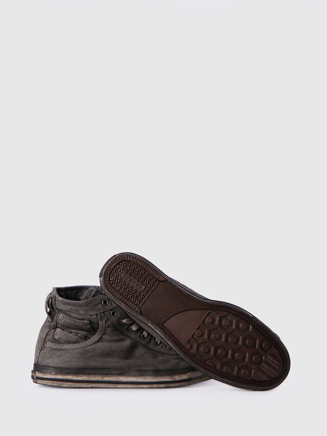 Diesel - EXPOSURE I, Gris Metal - Sneakers - Image 4