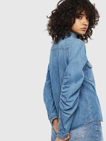 Diesel - DE-RINGY-R, Azul Claro - Camisas de Denim - Image 2