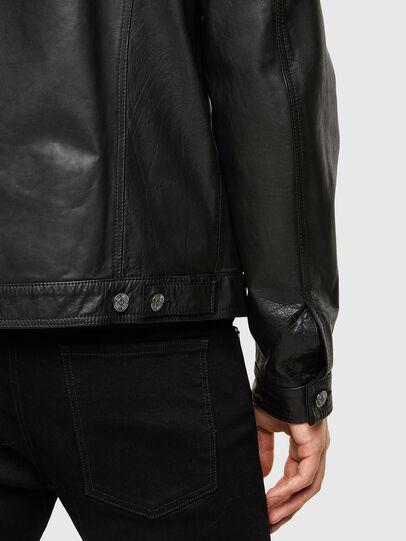 Diesel - L-PAD, Negro - Chaquetas de piel - Image 4