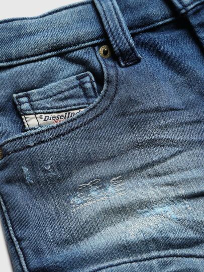 Diesel - PGINGHER JOGGJEANS, Azul medio - Shorts - Image 3