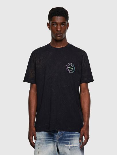 Diesel - T-JUST-E3, Negro - Camisetas - Image 1