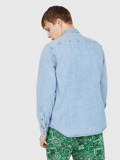 Diesel - D-LEO, Blue Jeans - Camisas de Denim - Image 2
