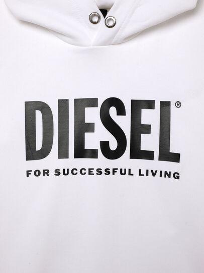 Diesel - SDIVISION-LOGOX OVER, Blanco - Sudaderas - Image 3