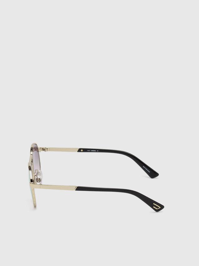 Diesel - DL0265, Oro - Gafas de sol - Image 3