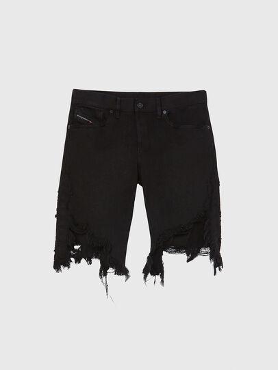 Diesel - D-KRASY, Negro - Shorts - Image 1