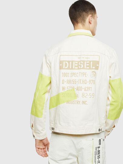Diesel - NHILL-SP, Blanco - Chaquetas de denim - Image 2