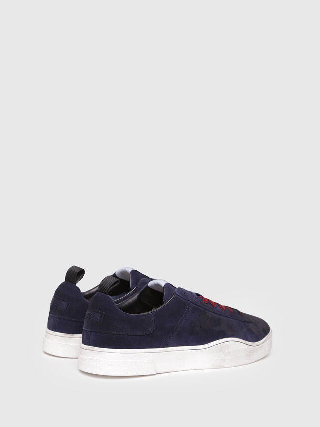 Diesel - S-CLEVER LOW, Azul Oscuro - Sneakers - Image 3