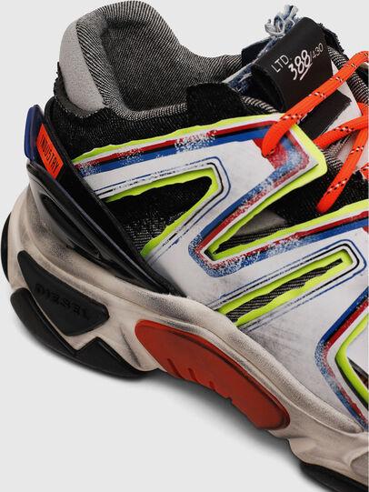 Diesel - S-KIPPER SK, Blanco/Negro - Sneakers - Image 4