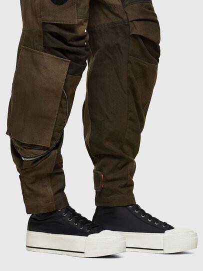 Diesel - P-JANE, Verde Militar - Pantalones - Image 4