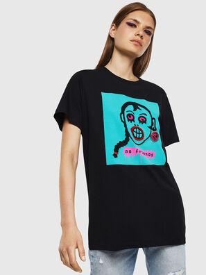T-DARIA-K, Negro - Camisetas