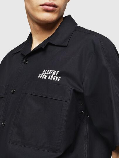 Diesel - S-KULKOV, Negro - Camisas - Image 3