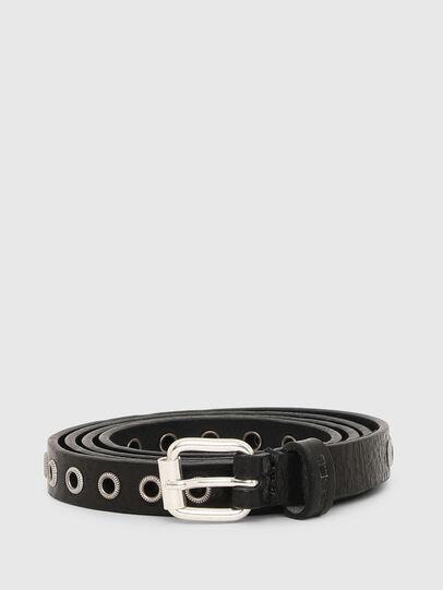 Diesel - B-EYE, Negro - Cinturones - Image 1