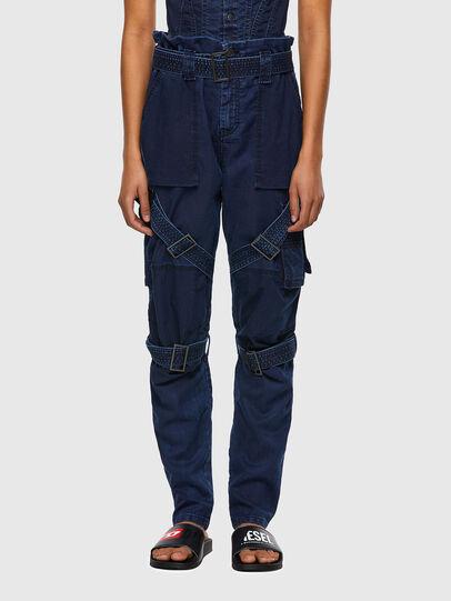 Diesel - D-Fedry JoggJeans® 0CBBZ, Azul Oscuro - Vaqueros - Image 1