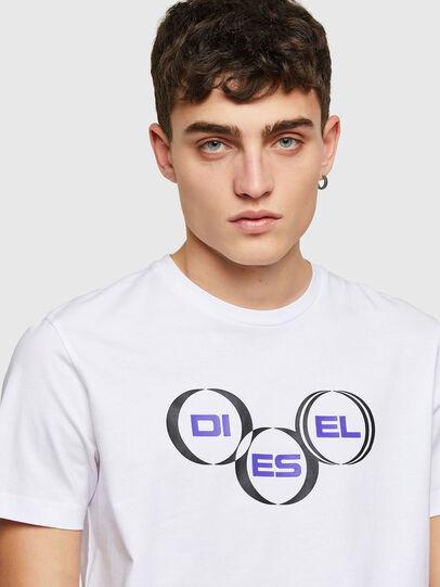 Diesel - T-DIEGOS-K39, Blanco - Camisetas - Image 3