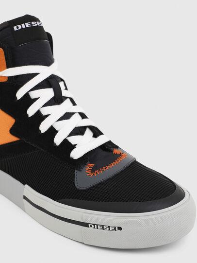 Diesel - S-DESE MS, Negro/Naranja - Sneakers - Image 4