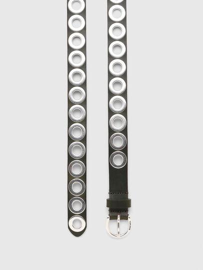 Diesel - B-SPARK, Verde Oliva - Cinturones - Image 3