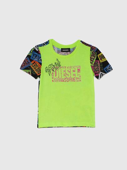 Diesel - TAIRB-R, Verde/Negro - Camisetas y Tops - Image 1