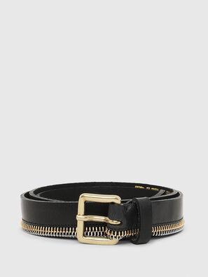 B-ZIPPER, Negro - Cinturones