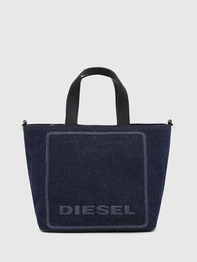 Diesel - PUMPKIE, Azul Oscuro - Maletines y Bolsos De Mano - Image 1