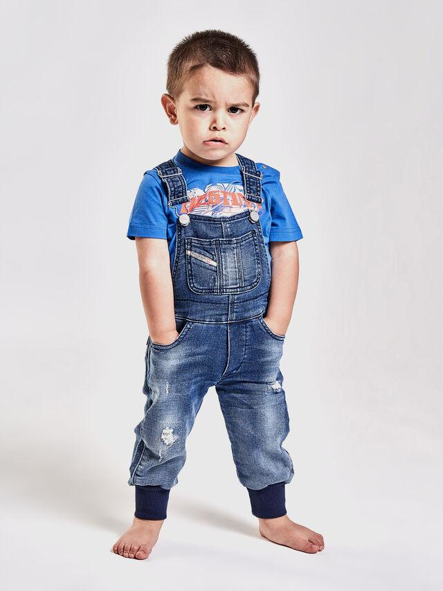 Diesel - PATHYB JOGGJEANS, Blue Jeans - Monos - Image 4