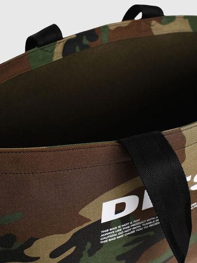 Diesel - D-THISBAG SHOPPER L, Verde Camuflaje - Bolsos Shopper y Al Hombro - Image 5