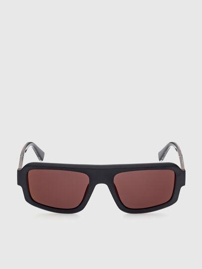 Diesel - DL0348, Negro/ Rojo - Gafas de sol - Image 1